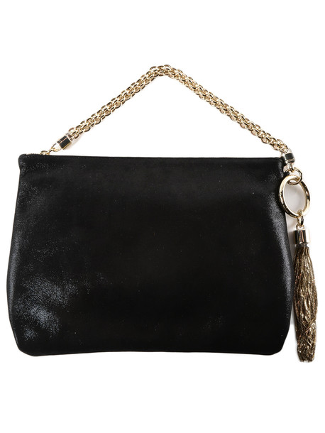 Jimmy Choo Callie Clutch in black