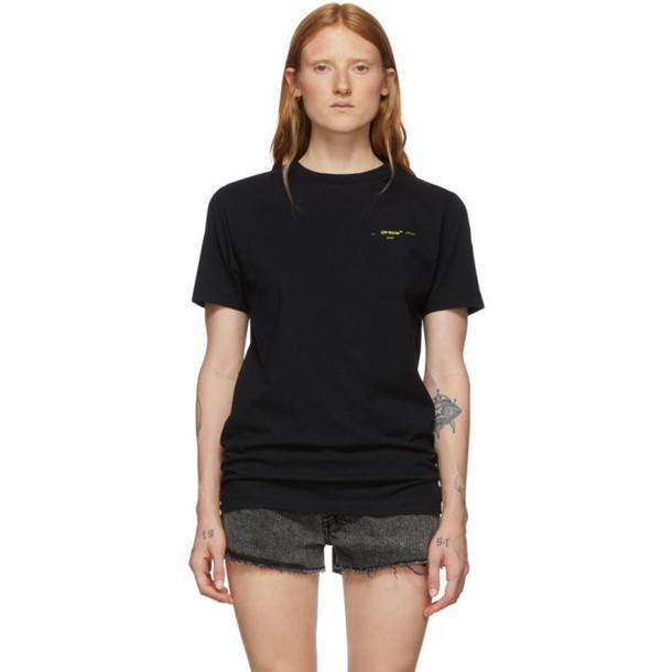 Off-White Black Painted Arrows Slim T-Shirt