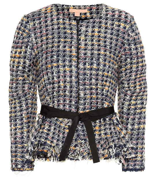 Brock Collection Panicucci wool-blend jacket in blue
