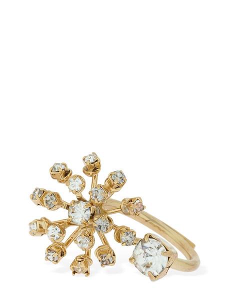 ROSANTICA Arcadia Crystal Ring in gold