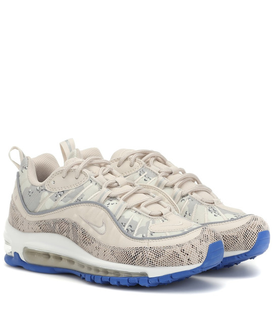 Nike Air Max 98 Premium Camo sneakers in beige