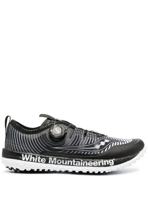 Saucony Switchback x White Mountaineering trainers in black