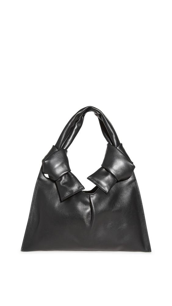 Little Liffner Knot Evening Bag in black