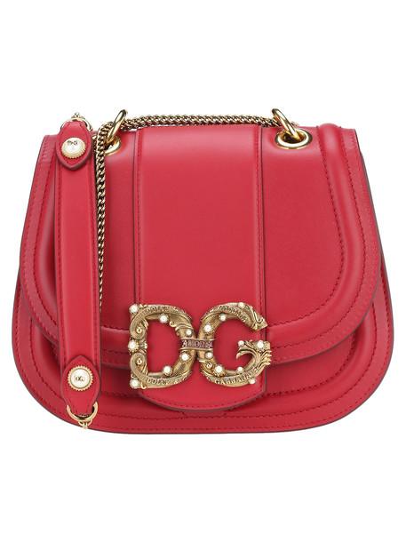 Dolce & gabbana Dolce & Gabbana Dg Amore Shoulder Bag in red