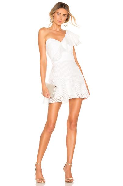 Amanda Uprichard Mckinnon Dress in white