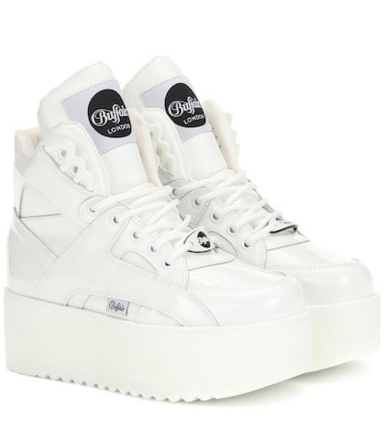 Junya Watanabe x Buffalo London leather sneakers in white