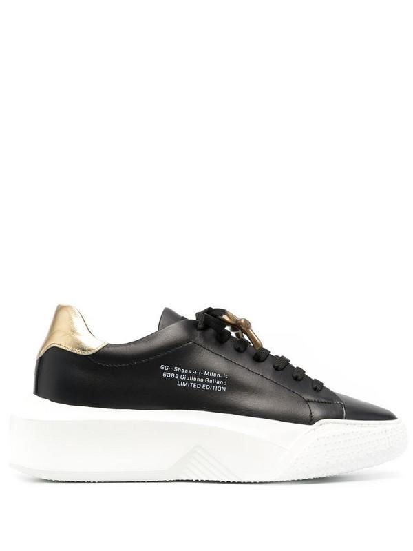 Giuliano Galiano Nemesis low-top sneakers in black