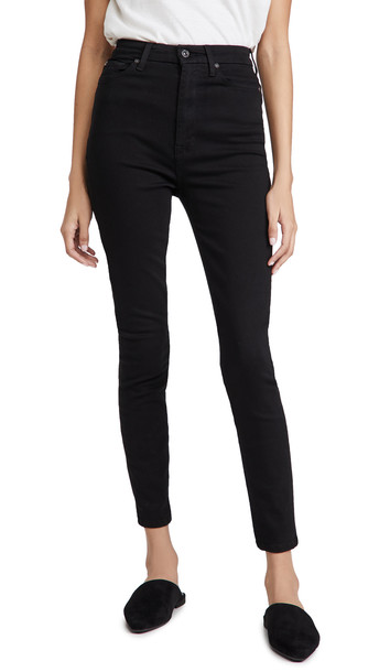 7 For All Mankind Aubrey Skinny Jeans in black