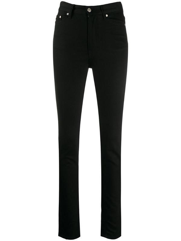 AMI Paris skinny fit jeans in black