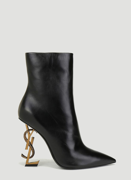 Saint Laurent Opyum Boots in Black size EU - 40