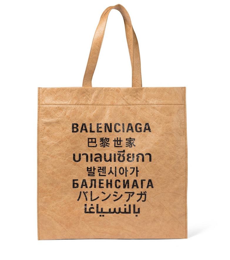 Balenciaga Languages tote in beige