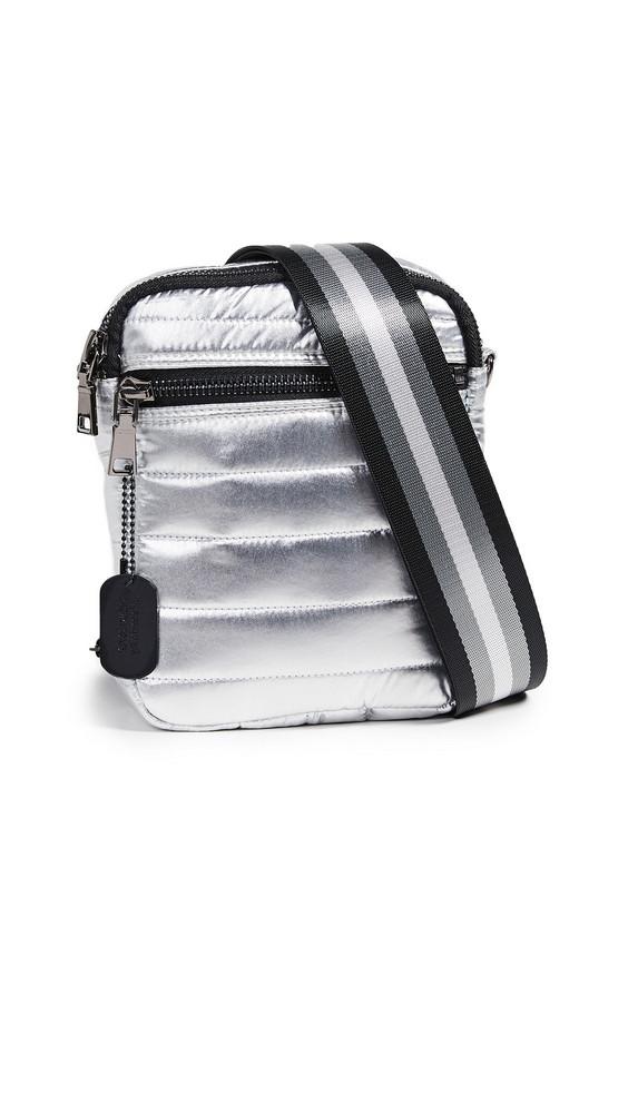 Think Royln Camera Bag in silver