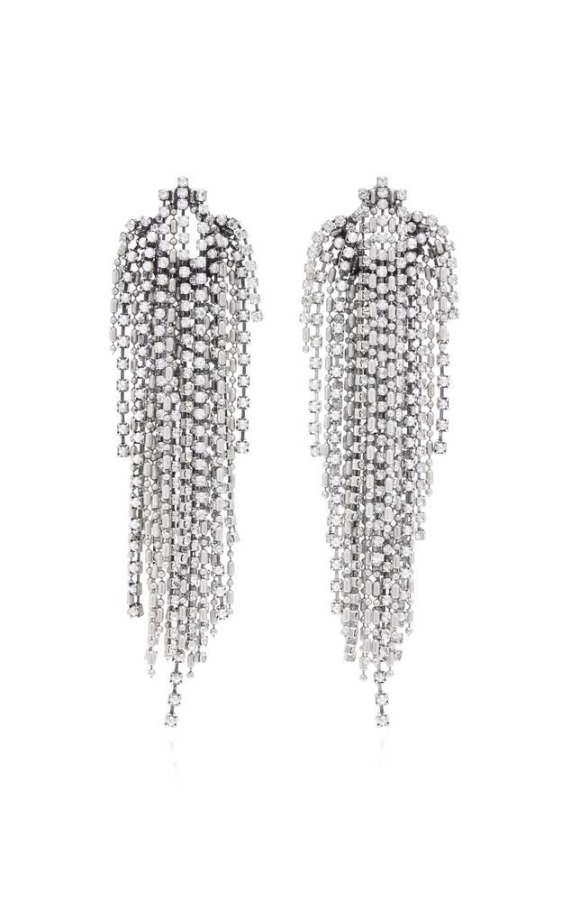Dannijo Esme Pearl Earrings in metallic