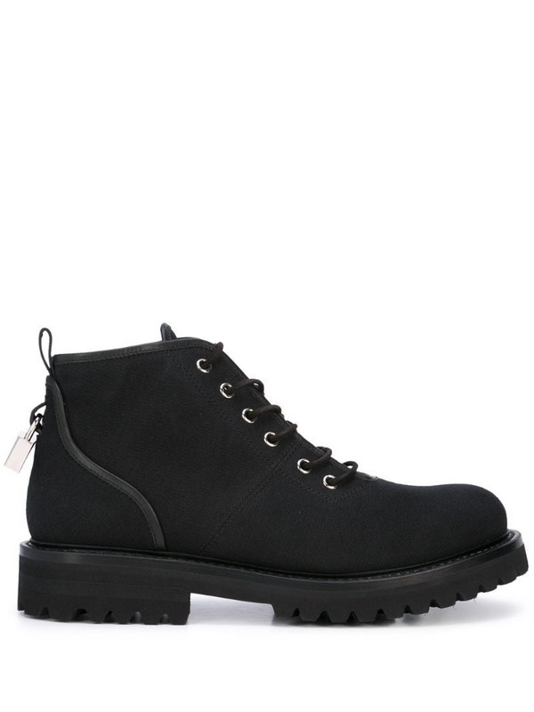 Buscemi lace-up ankle boots in black