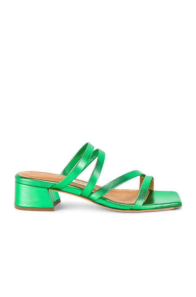 Miista Eva Sandal in green