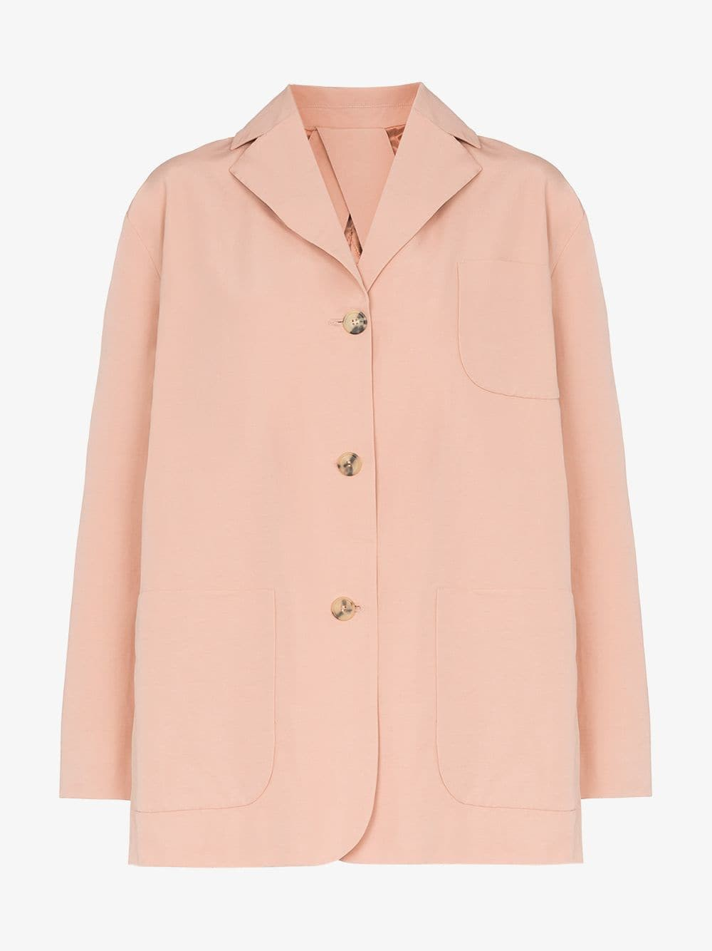 Plan C three pocket blazer jacket in pink