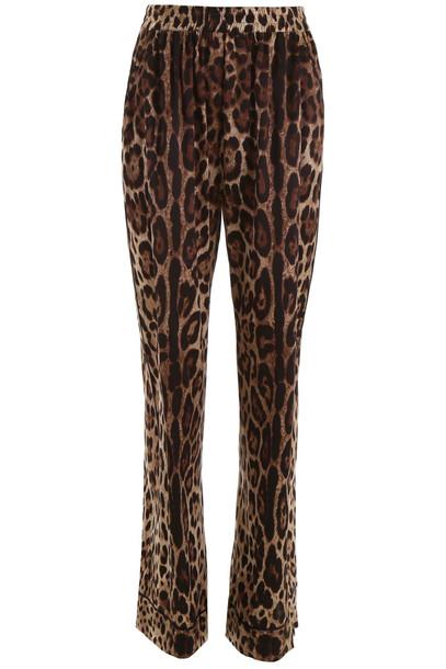 Dolce & Gabbana Pyjama Trousers in brown