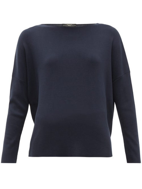 Weekend Max Mara - Ginseng Sweater - Womens - Navy