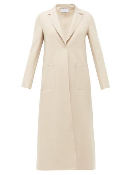 Harris Wharf London - Felted Virgin Wool Coat - Womens - Cream