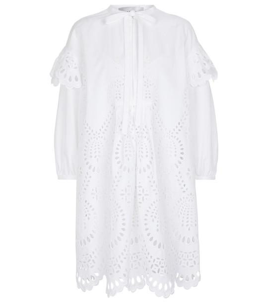 Valentino San Gallo Edition dress in white