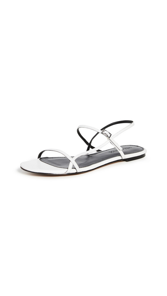 Villa Rouge Porsche Sandals in white
