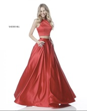 dress,red dress,yellow prom dress,red prom dress,prom dress,prom beauty,long prom dress,2 piece prom dress,prom,yellow dress
