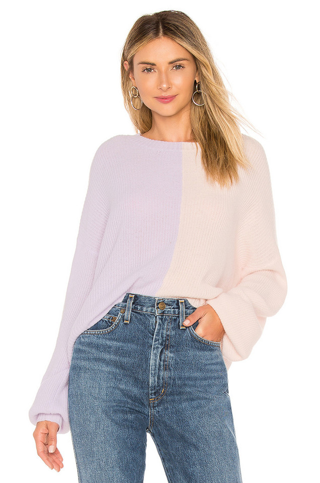 27 miles malibu Arlo Sweater in lavender