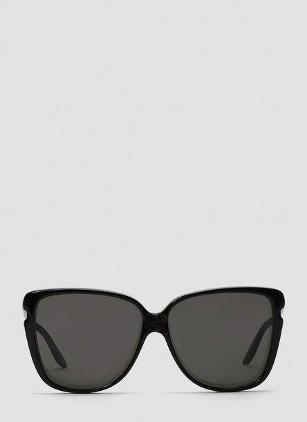 Gucci Oversized Acetate Sunglasses in Black size One Size
