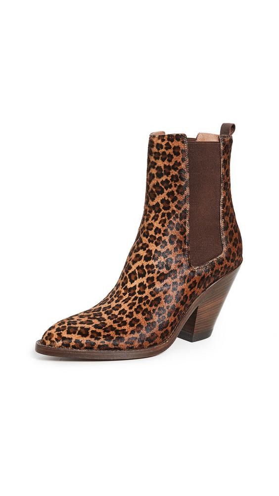 Buttero Jane Booties in leopard