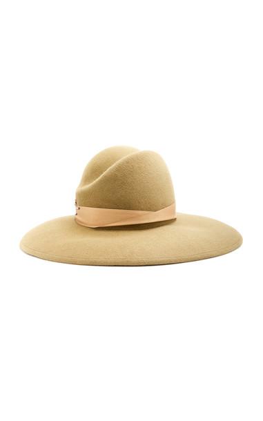 Yestadt Millinery Ramona Ribbon-Trimmed Felt Hat Size: S