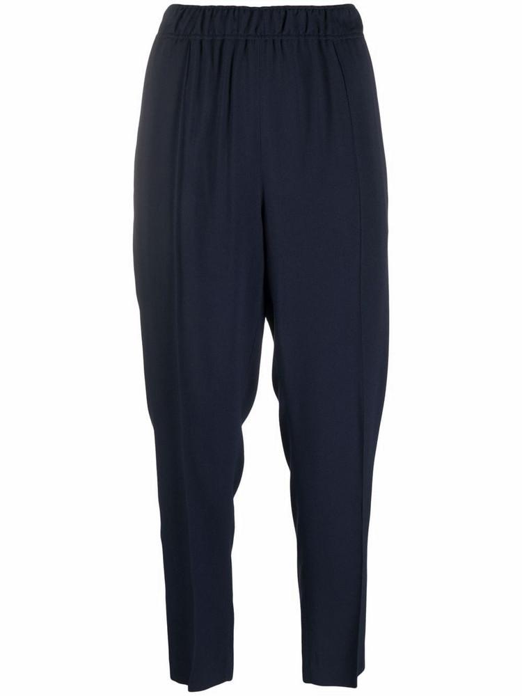 A.P.C. A.P.C. Garance lightweight cropped trousers - Blue