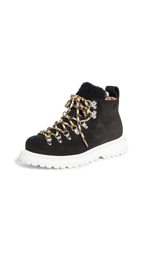 Buttero Zeno Shearling Boots in black