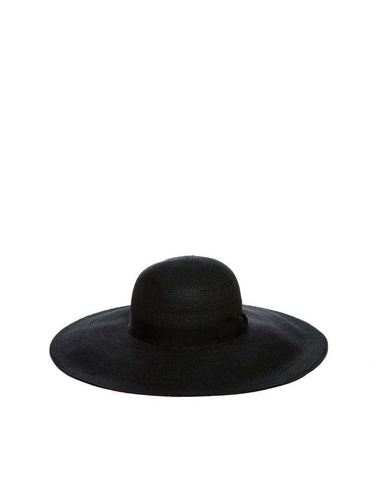 Borsalino Wide-brim Hat in nero