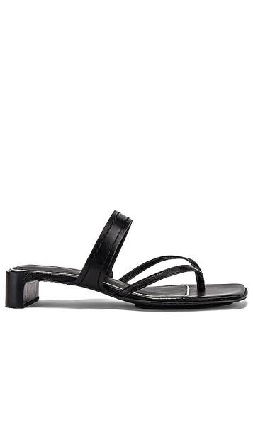 Rag & Bone Colt Mid Sandal in Black