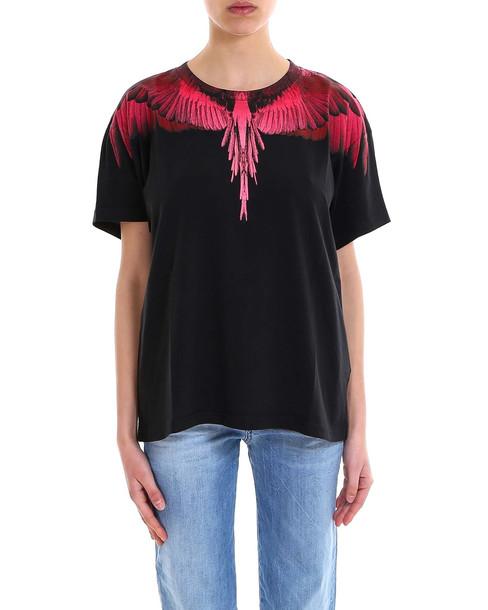 Marcelo Burlon Wings T-shirt in black