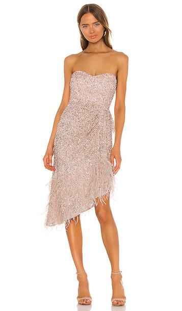 Parker Black Nerissa Dress in Blush