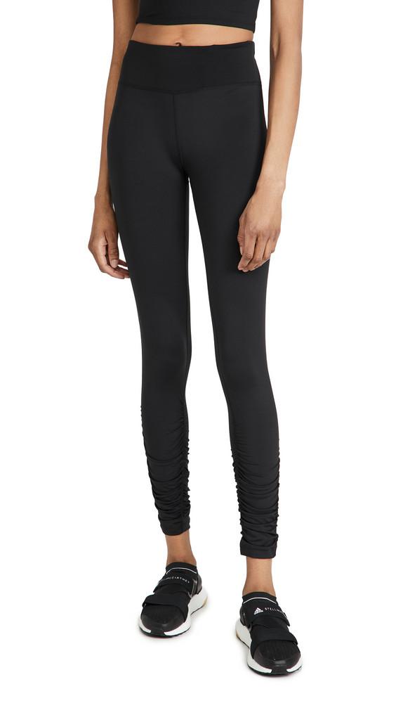 Sweaty Betty All Day Ruche Hem Leggings in black