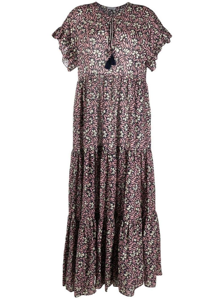 P.A.R.O.S.H. P.A.R.O.S.H. floral-print maxi dress - Pink