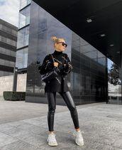 sweater,black sweater,balenciaga,sneakers,black leather,black bag