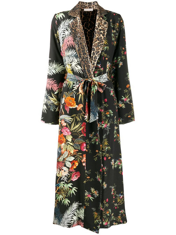 Anjuna Adelaide robe coat in black