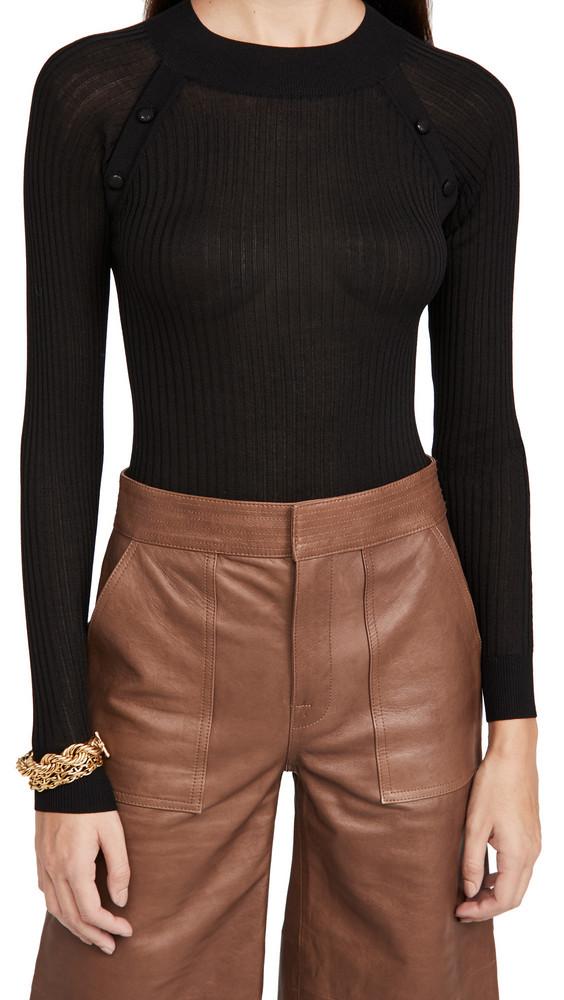 DODO BAR OR Elga Thong Bodysuit in black