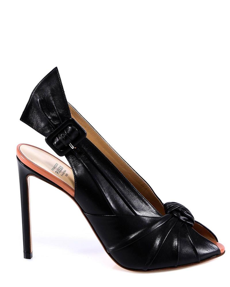 Francesco Russo Sandals in black