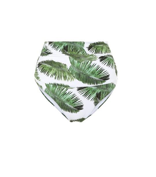 Melissa Odabash Caribe high-rise bikini bottoms in green