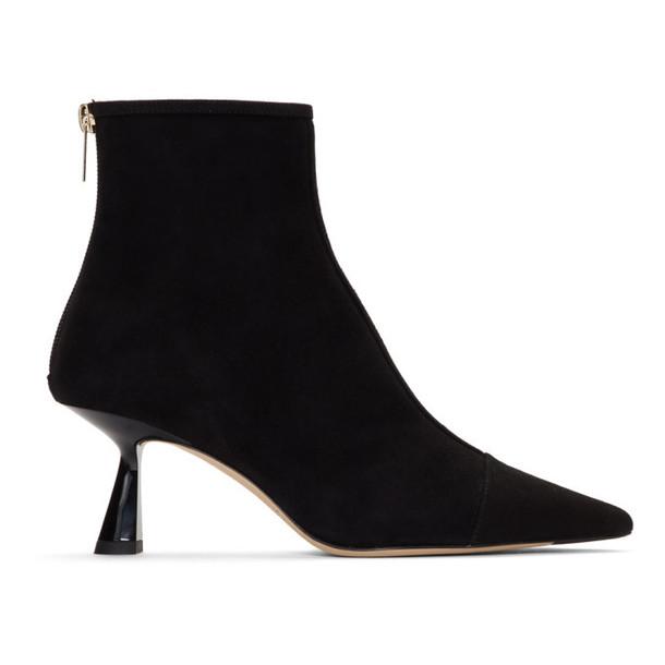 Jimmy Choo Black Suede Kix Boots