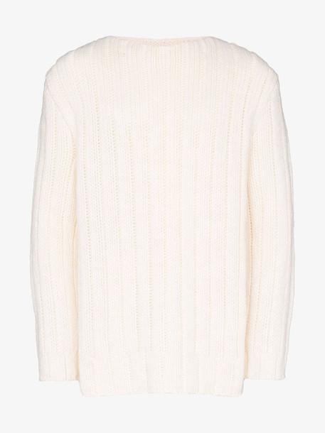 Raf Simons xanthophobic print sweater