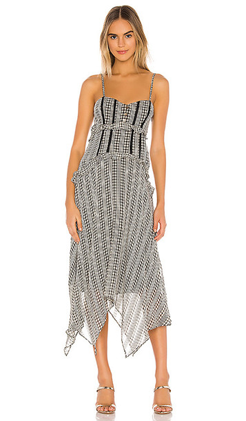 Tularosa Lenna Dress in Black & White