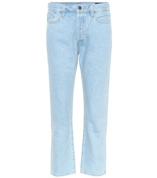 Goldsign The Low Slung straight jeans in blue