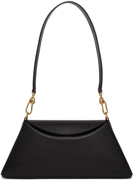 Nanushka Black Vegan Leather Noya Bag