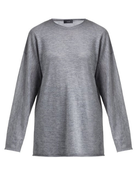 Joseph - Oversized Cashmere Sweater - Womens - Grey