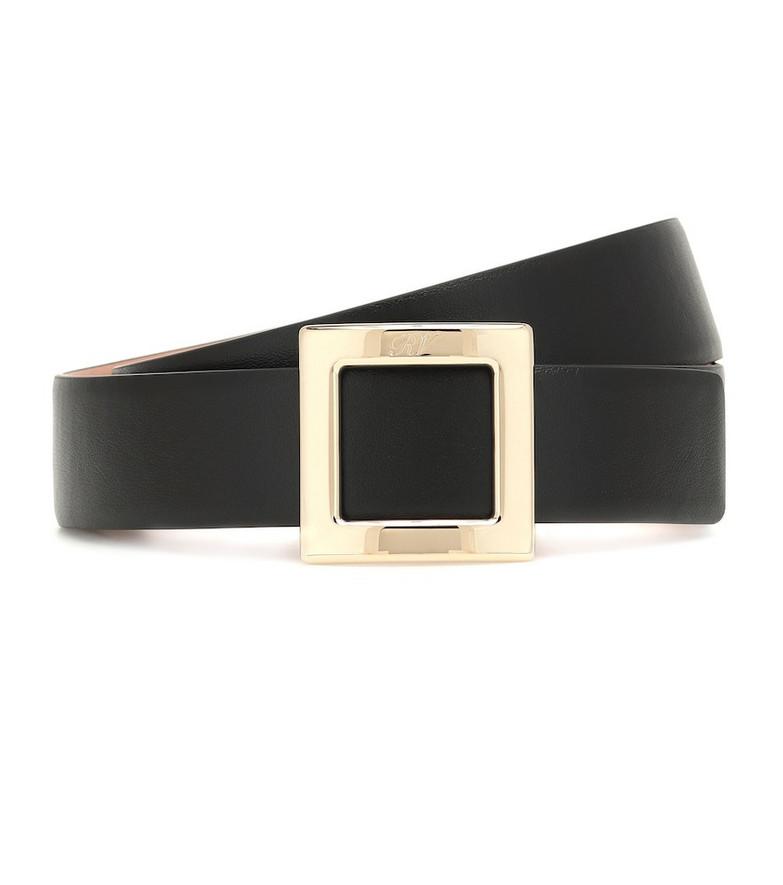 Roger Vivier Leather belt in black